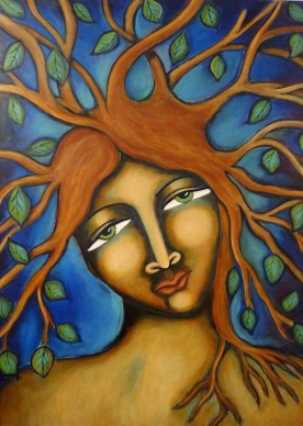 hmoondancer Tree Goddess